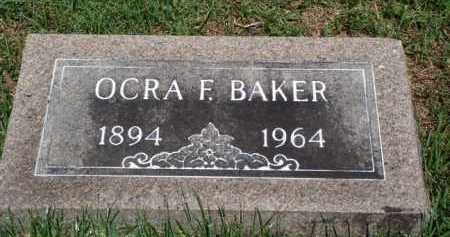BAKER, OCRA F - Baxter County, Arkansas | OCRA F BAKER - Arkansas Gravestone Photos