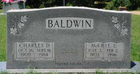 BALDWIN, CHARLES D. - Baxter County, Arkansas | CHARLES D. BALDWIN - Arkansas Gravestone Photos
