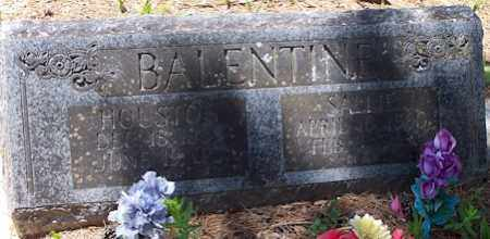 BALENTINE, HOUSTON - Baxter County, Arkansas | HOUSTON BALENTINE - Arkansas Gravestone Photos
