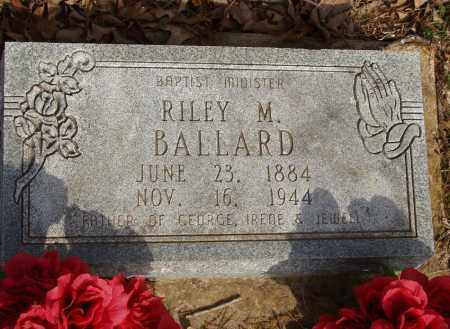 BALLARD, RILEY M - Baxter County, Arkansas | RILEY M BALLARD - Arkansas Gravestone Photos