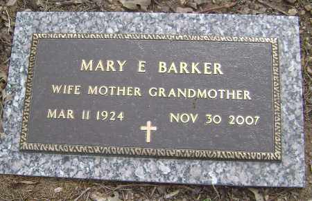 BARKER, MARY E. - Baxter County, Arkansas | MARY E. BARKER - Arkansas Gravestone Photos