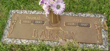 BARKER, THOMAS - Baxter County, Arkansas | THOMAS BARKER - Arkansas Gravestone Photos