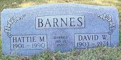 CUNNINGHAM BARNES, HATTIE MAY - Baxter County, Arkansas | HATTIE MAY CUNNINGHAM BARNES - Arkansas Gravestone Photos