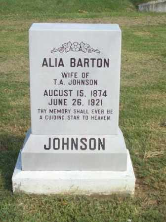 BARTON, ALIA - Baxter County, Arkansas | ALIA BARTON - Arkansas Gravestone Photos