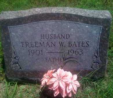 BATES, FREEMAN W. - Baxter County, Arkansas | FREEMAN W. BATES - Arkansas Gravestone Photos
