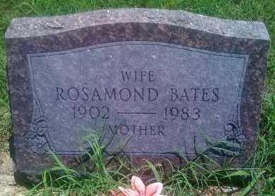 BATES, ROSAMOND - Baxter County, Arkansas | ROSAMOND BATES - Arkansas Gravestone Photos