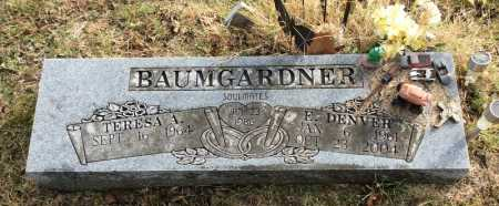 BAUMGARDNER, E. DENVER - Baxter County, Arkansas | E. DENVER BAUMGARDNER - Arkansas Gravestone Photos