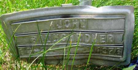 BAUMGARDNER, JOHN - Baxter County, Arkansas | JOHN BAUMGARDNER - Arkansas Gravestone Photos