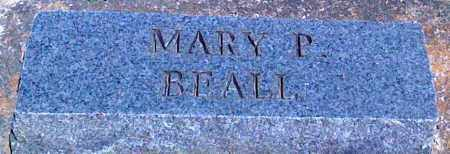 BEALL, MARY P - Baxter County, Arkansas | MARY P BEALL - Arkansas Gravestone Photos