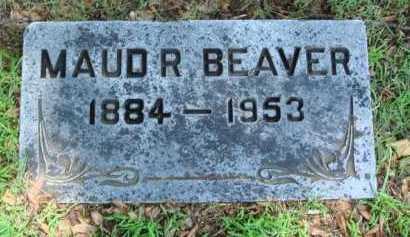 BEAVER, MAUD R. - Baxter County, Arkansas | MAUD R. BEAVER - Arkansas Gravestone Photos