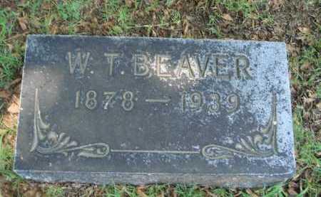 BEAVER, W. T. - Baxter County, Arkansas | W. T. BEAVER - Arkansas Gravestone Photos