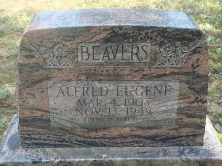 BEAVERS, ALFRED EUGENE - Baxter County, Arkansas | ALFRED EUGENE BEAVERS - Arkansas Gravestone Photos