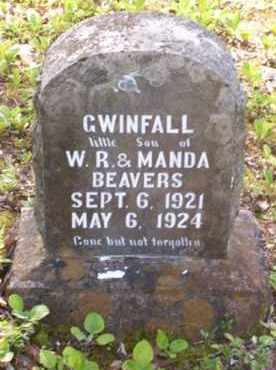 BEAVERS, GWINFALL - Baxter County, Arkansas | GWINFALL BEAVERS - Arkansas Gravestone Photos