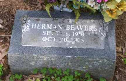 BEAVERS, HERMAN RALPH - Baxter County, Arkansas | HERMAN RALPH BEAVERS - Arkansas Gravestone Photos