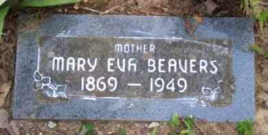 "BEAVERS, MARY EVALINE ""EVIE"" - Baxter County, Arkansas 
