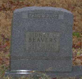 BEAVERS, SIDNEY C. - Baxter County, Arkansas | SIDNEY C. BEAVERS - Arkansas Gravestone Photos