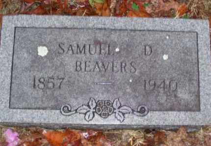 BEAVERS, SAMUEL DEHART 'SAM' - Baxter County, Arkansas | SAMUEL DEHART 'SAM' BEAVERS - Arkansas Gravestone Photos