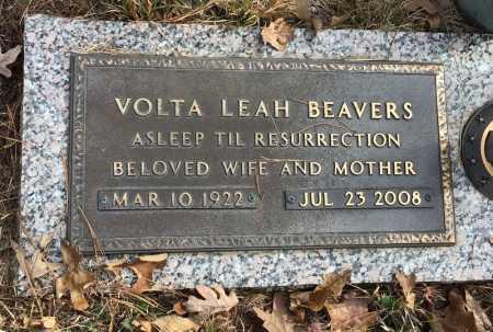 BEAVERS, VOLTA LEAH - Baxter County, Arkansas | VOLTA LEAH BEAVERS - Arkansas Gravestone Photos