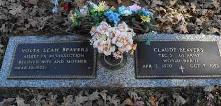 BEAVERS (VETERAN WWII), CLAUDE - Baxter County, Arkansas | CLAUDE BEAVERS (VETERAN WWII) - Arkansas Gravestone Photos