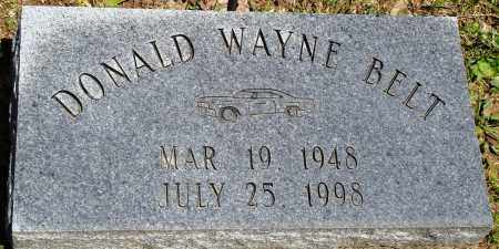 BELT, DONALD WAYNE - Baxter County, Arkansas | DONALD WAYNE BELT - Arkansas Gravestone Photos