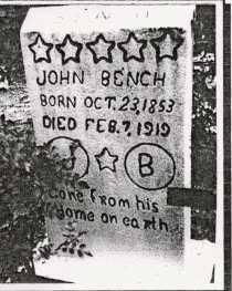 BENCH, JOHN C. - Baxter County, Arkansas | JOHN C. BENCH - Arkansas Gravestone Photos