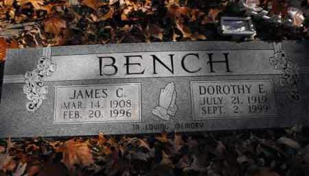 BENCH, JAMES C. - Baxter County, Arkansas | JAMES C. BENCH - Arkansas Gravestone Photos