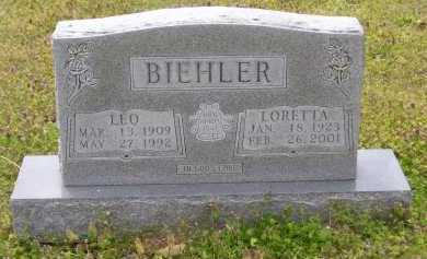 BIEHLER (VETERAN), LEO - Baxter County, Arkansas | LEO BIEHLER (VETERAN) - Arkansas Gravestone Photos