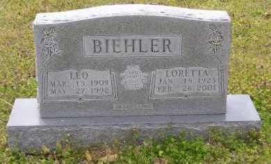 MULLEN BIEHLER (VETERAN), LORETTA - Baxter County, Arkansas | LORETTA MULLEN BIEHLER (VETERAN) - Arkansas Gravestone Photos