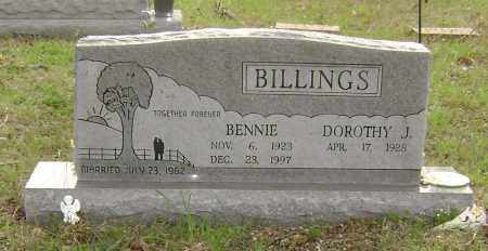 BILLINGS, BENNIE - Baxter County, Arkansas | BENNIE BILLINGS - Arkansas Gravestone Photos