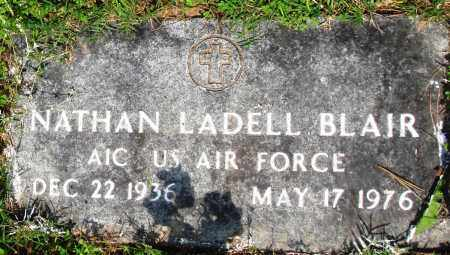 BLAIR (VETERAN), NATHAN LADELL - Baxter County, Arkansas | NATHAN LADELL BLAIR (VETERAN) - Arkansas Gravestone Photos