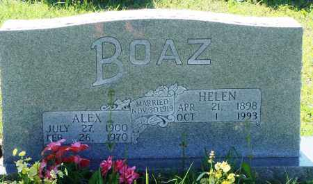BOAZ, ALEX - Baxter County, Arkansas | ALEX BOAZ - Arkansas Gravestone Photos