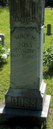 BOSS, NANCY M - Baxter County, Arkansas | NANCY M BOSS - Arkansas Gravestone Photos