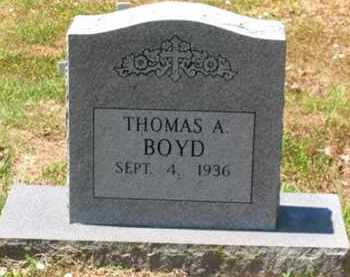 BOYD (2), THOMAS ALFRED - Baxter County, Arkansas | THOMAS ALFRED BOYD (2) - Arkansas Gravestone Photos