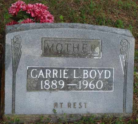 BOYD, CARRIE L - Baxter County, Arkansas | CARRIE L BOYD - Arkansas Gravestone Photos