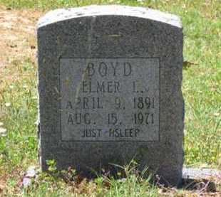 BOYD, ELMER L. - Baxter County, Arkansas | ELMER L. BOYD - Arkansas Gravestone Photos
