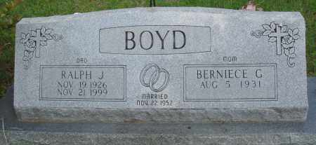 BOYD, RALPH J - Baxter County, Arkansas | RALPH J BOYD - Arkansas Gravestone Photos