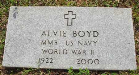 BOYD (VETERAN WWII), ALVIE - Baxter County, Arkansas   ALVIE BOYD (VETERAN WWII) - Arkansas Gravestone Photos