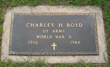 BOYD (VETERAN WWII), CHARLES H - Baxter County, Arkansas | CHARLES H BOYD (VETERAN WWII) - Arkansas Gravestone Photos