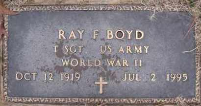 BOYD (VETERAN WWII), RAY FRANKLIN - Baxter County, Arkansas | RAY FRANKLIN BOYD (VETERAN WWII) - Arkansas Gravestone Photos