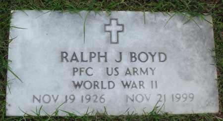 BOYD (VETERAN WWII), RALPH J - Baxter County, Arkansas | RALPH J BOYD (VETERAN WWII) - Arkansas Gravestone Photos