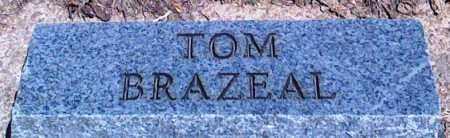 BRAZEAL, TOM - Baxter County, Arkansas | TOM BRAZEAL - Arkansas Gravestone Photos