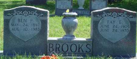 BROOKS, FAY E. - Baxter County, Arkansas | FAY E. BROOKS - Arkansas Gravestone Photos