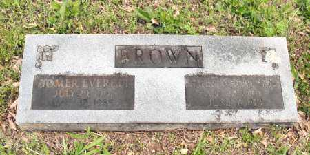 BROWN, HOMER EVERETT - Baxter County, Arkansas | HOMER EVERETT BROWN - Arkansas Gravestone Photos