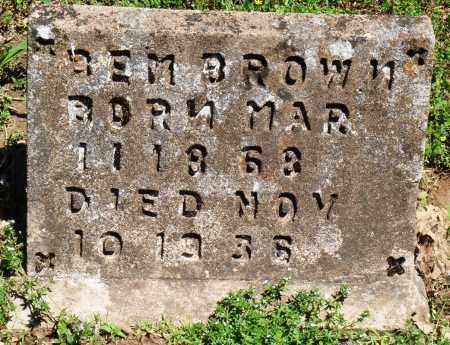 BROWN, REM - Baxter County, Arkansas | REM BROWN - Arkansas Gravestone Photos