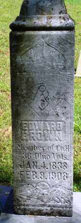 BROWN (2), EDWARD - Baxter County, Arkansas | EDWARD BROWN (2) - Arkansas Gravestone Photos