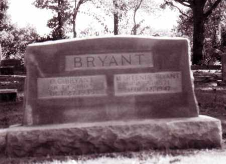 BRYANT, MARTINIA - Baxter County, Arkansas | MARTINIA BRYANT - Arkansas Gravestone Photos