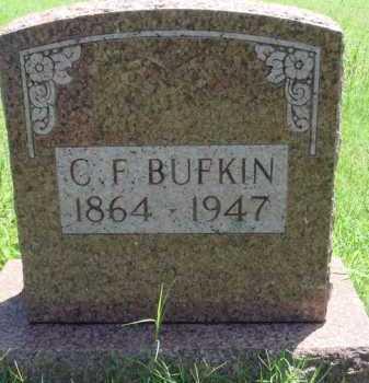 BUFKIN, C. F. - Baxter County, Arkansas | C. F. BUFKIN - Arkansas Gravestone Photos