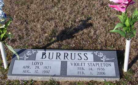 BURRUSS, VIOLET - Baxter County, Arkansas | VIOLET BURRUSS - Arkansas Gravestone Photos