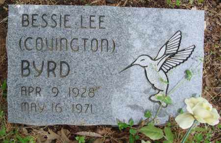 COVINGTON BYRD, BESSIE LEE - Baxter County, Arkansas | BESSIE LEE COVINGTON BYRD - Arkansas Gravestone Photos