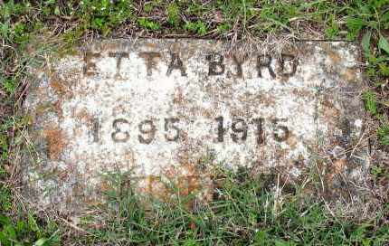 BYRD, ETTA - Baxter County, Arkansas | ETTA BYRD - Arkansas Gravestone Photos